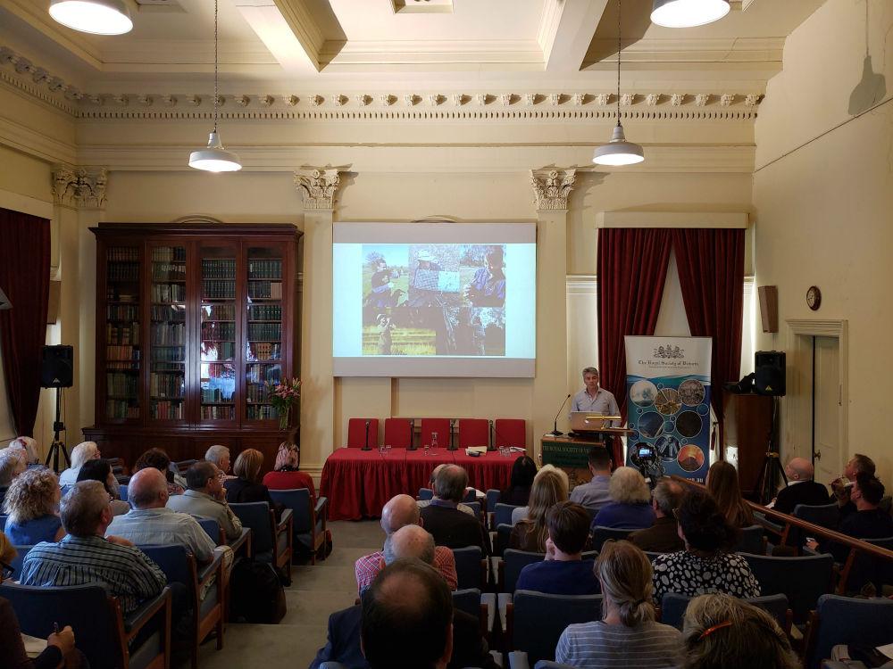 Professor David Lindenmayer presenting at Public Lecture 2