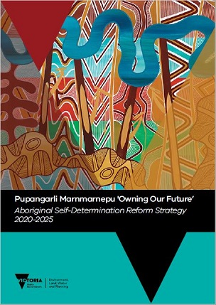 Cover page for the Aboriginal Self-Determination Reform Strategy